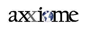 logotyp axxiome