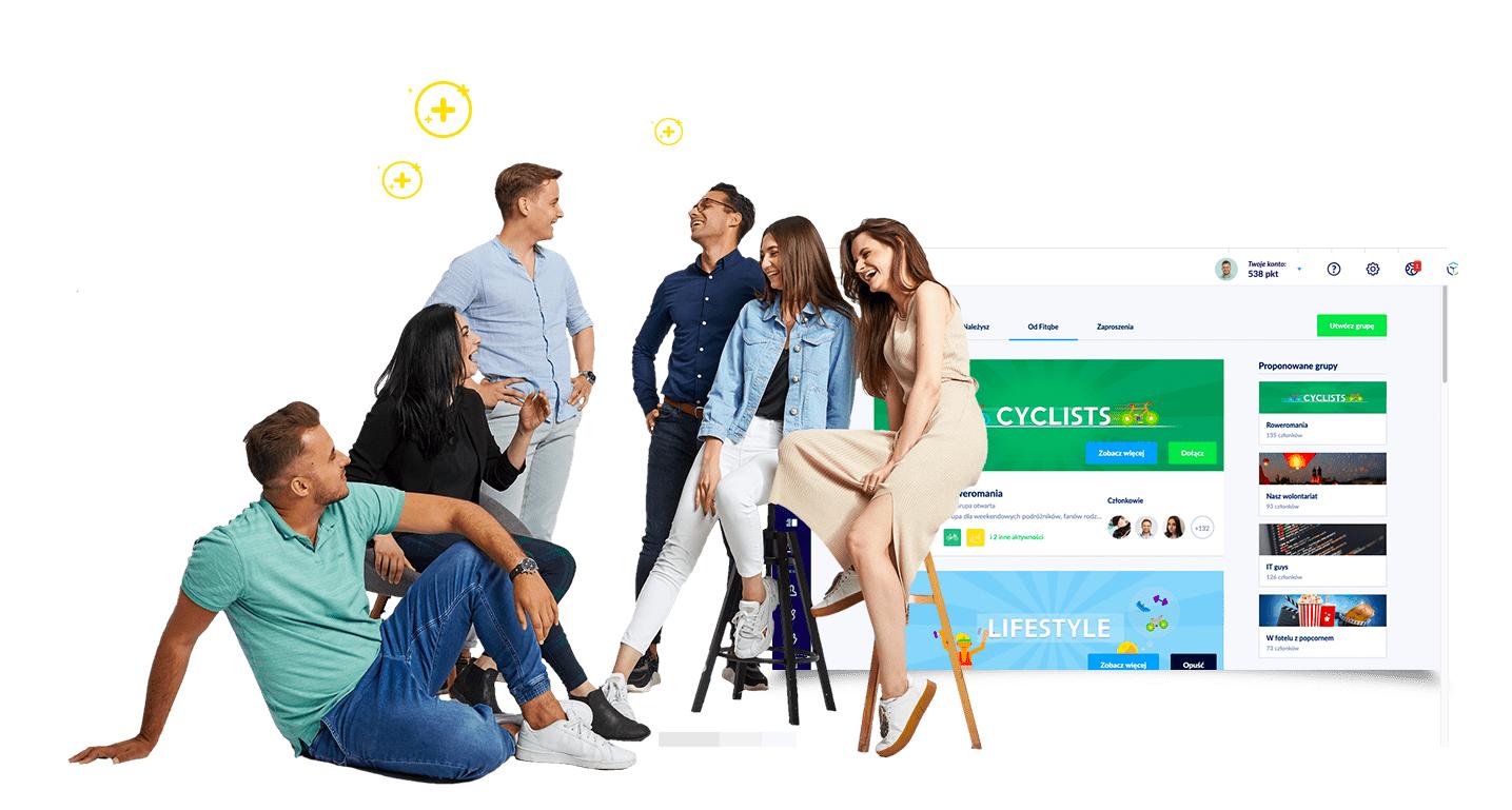 Grupy Worksmile - społeczność firmowa dzięki funkcji portalu pracowniczego